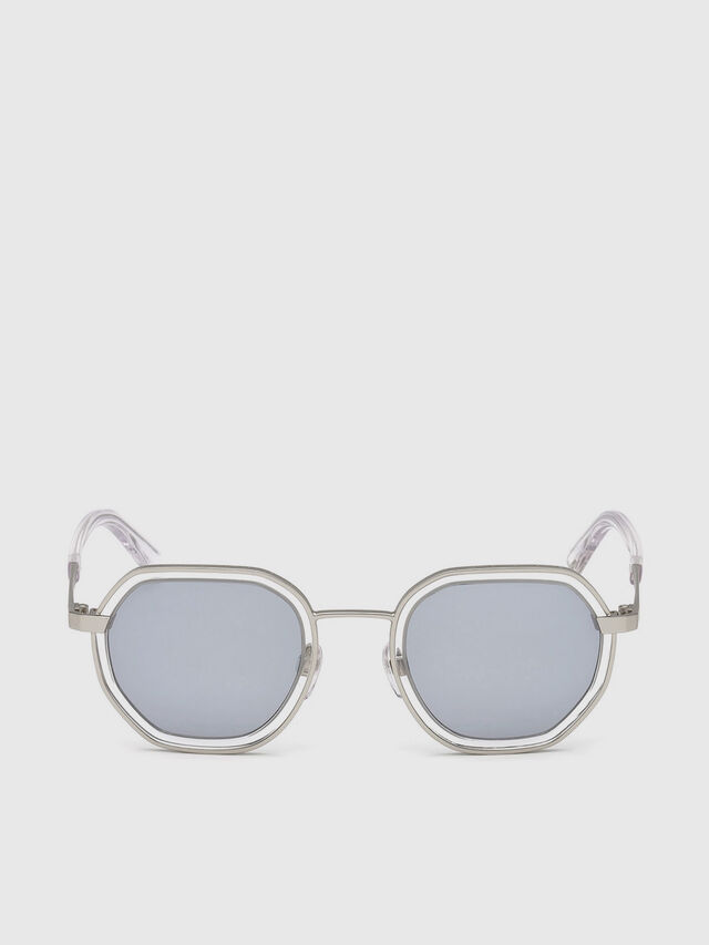 Diesel - DL0267, Grey - Sunglasses - Image 1