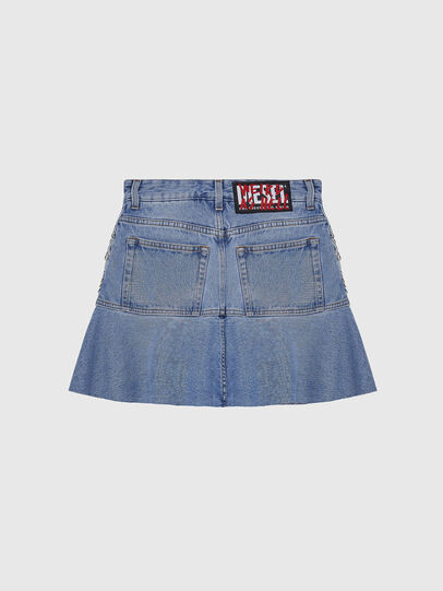 Diesel - DE-BETHY, Light Blue - Skirts - Image 2