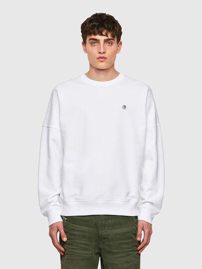 Diesel - S-KRIB-ROMOHI, White - Sweaters - Image 1