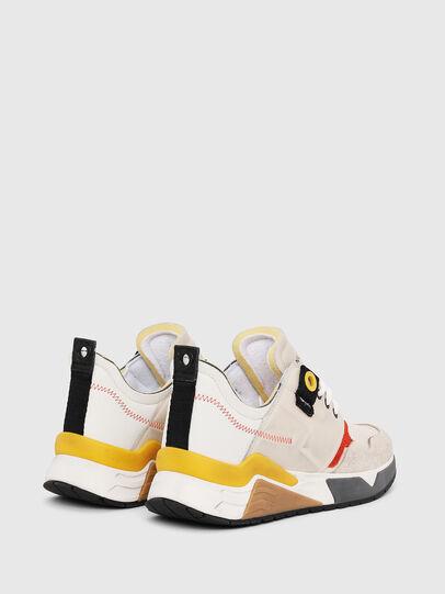 Diesel - S-BRENTHA LC, White - Sneakers - Image 3