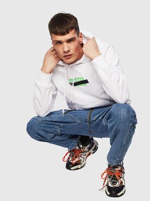 S-GIRK-HOOD-S1, White - Sweaters