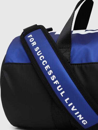 Diesel - BOLD DUFFLE, Black/Blue - Bags - Image 3