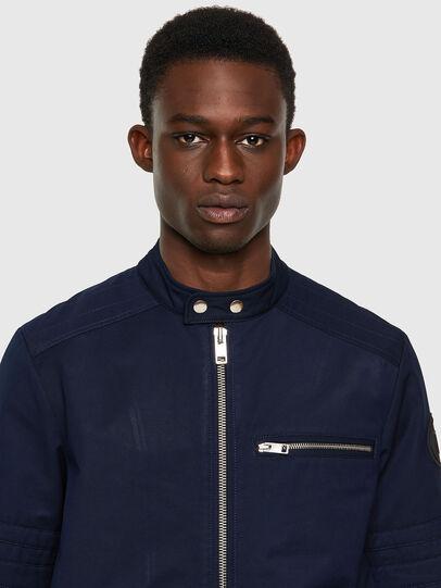 Diesel - J-GLORY, Dark Blue - Jackets - Image 3