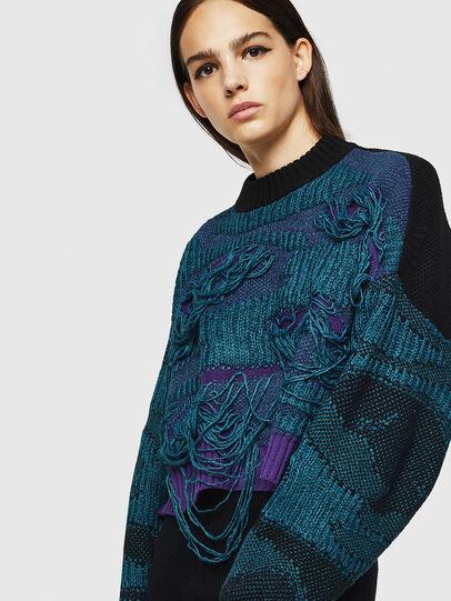 Diesel - M-KAM, Blue Marine - Knitwear - Image 3