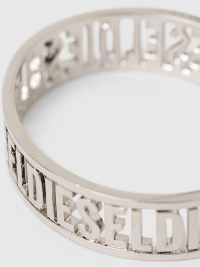 Diesel - A-ALLOGO, Silver - Bijoux and Gadgets - Image 2