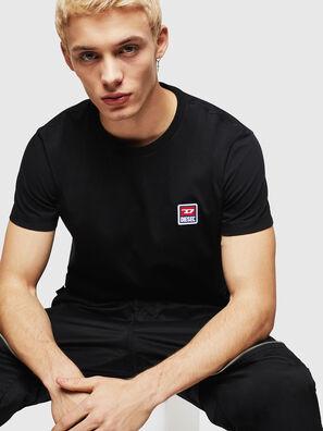 T-DIEGO-DIV, Black - T-Shirts