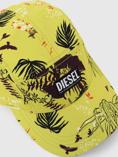 Diesel - C-WAY, Yellow Fluo - Caps - Image 3