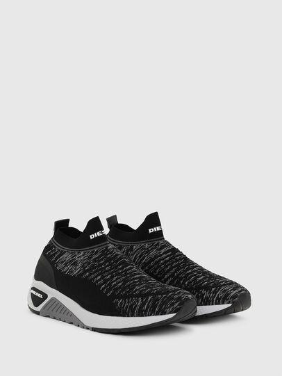 Diesel - S-KB ATHL SOCK II, Black - Sneakers - Image 2