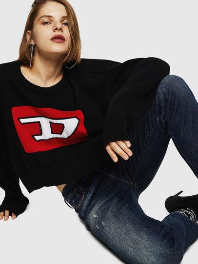Diesel - D-Rifty 089AL, Dark Blue - Jeans - Image 5