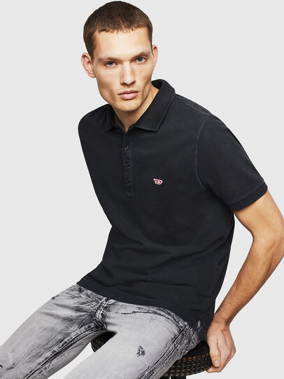 Diesel - T-NIGHT-NEW, Black - Polos - Image 4