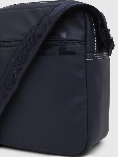 Diesel - DOUBLECROSS, Blue - Crossbody Bags - Image 4