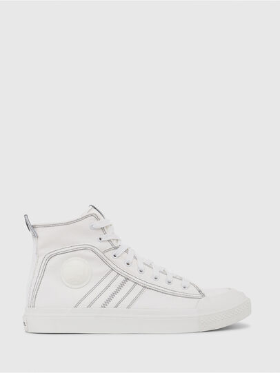 Diesel - S-ASTICO MID LACE, White - Sneakers - Image 1
