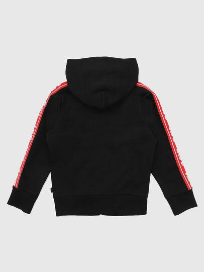 Diesel - SUITAX, Black/Red - Sweaters - Image 2