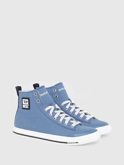 Diesel - S-ASTICO MID CUT, Light Blue - Sneakers - Image 2