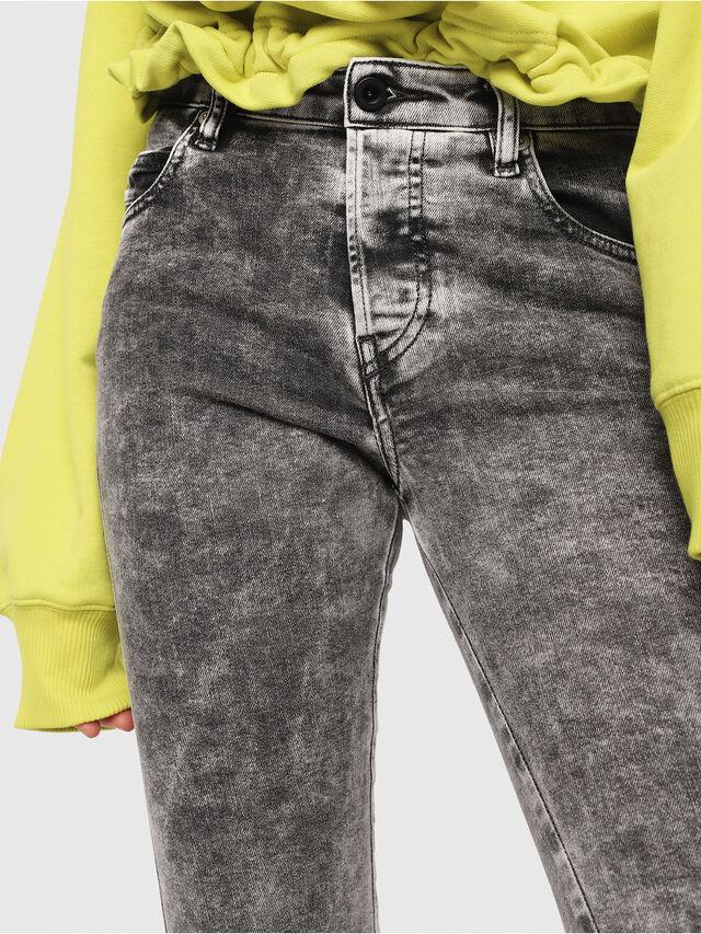 Diesel - Babhila 069FK, Light Grey - Jeans - Image 3
