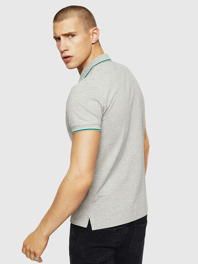 Diesel - T-RANDY-NEW, Light Grey - Polos - Image 2