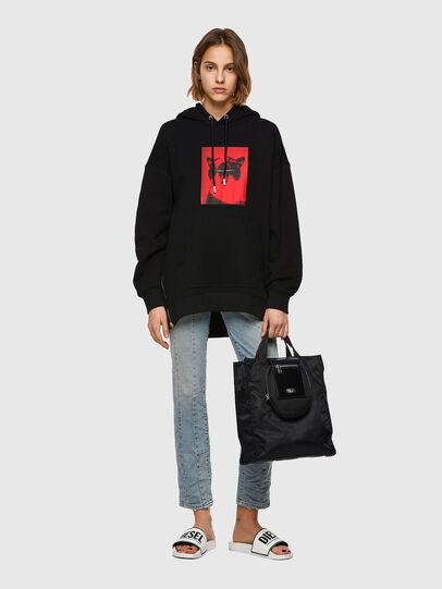 Diesel - F-GULLY-HOOD, Black - Sweaters - Image 5