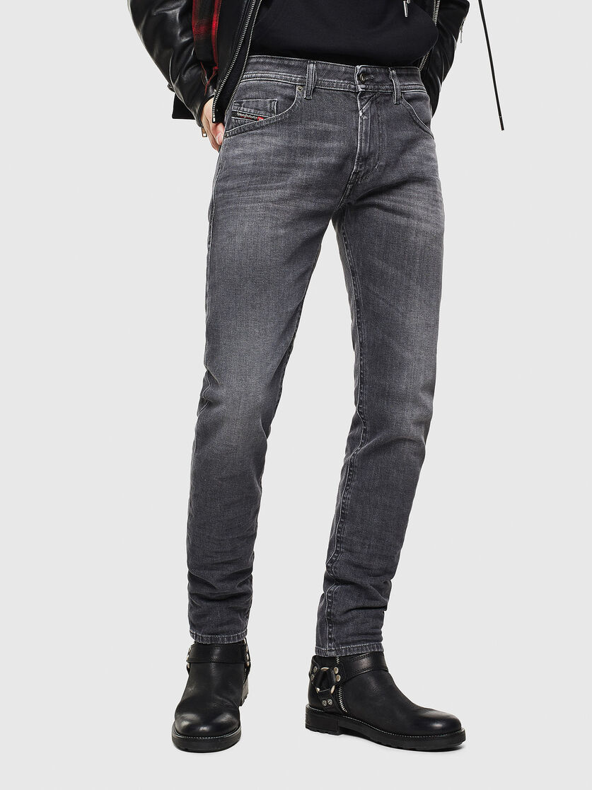 Thommer 0095i Man Slim Black Dark Grey