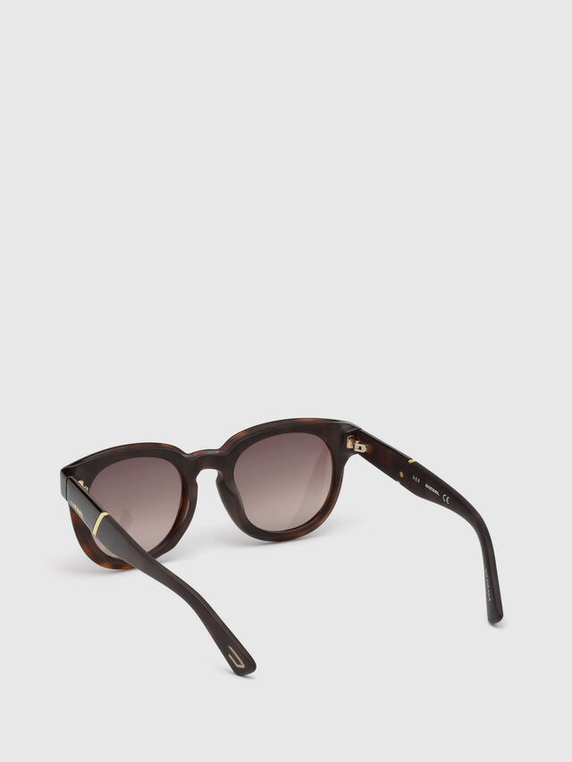 Diesel DL0230, Brown/Black - Eyewear - Image 2