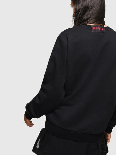 Diesel - LCP-S-GIRK-HELSINKI, Black - Sweaters - Image 4