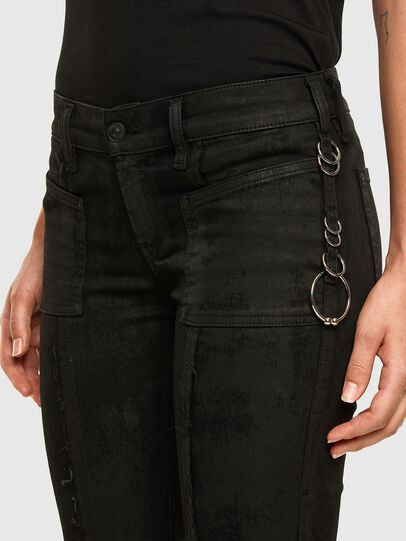 Diesel - Slandy 069NG, Black/Dark grey - Jeans - Image 6