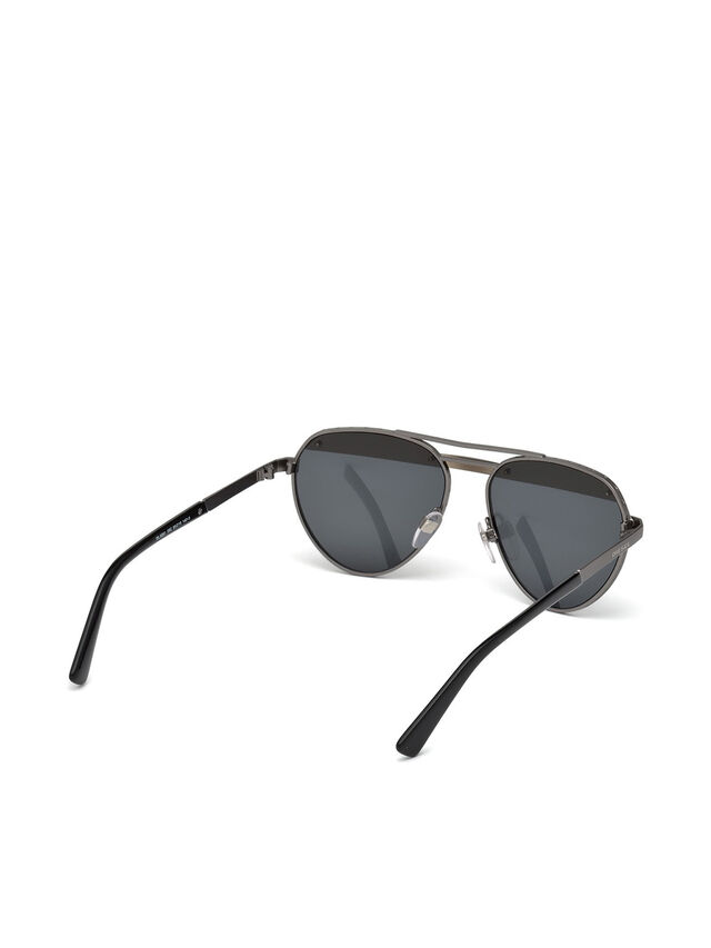 Diesel - DL0261, Black/Grey - Sunglasses - Image 8
