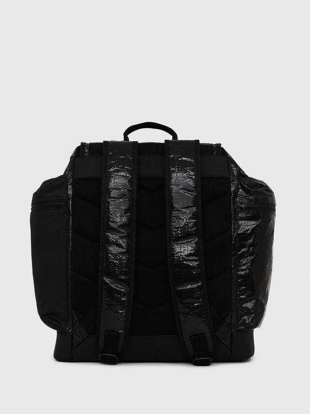 Diesel - M-CAGE BACK, Black - Backpacks - Image 2