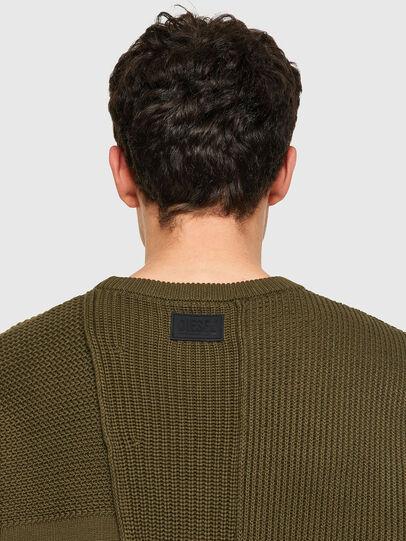 Diesel - K-YUKON, Military Green - Knitwear - Image 3