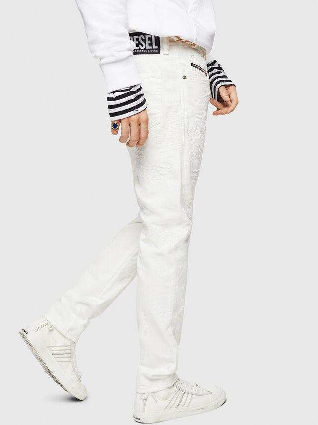 Diesel - Mharky 069IJ, White - Jeans - Image 4