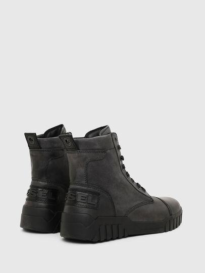 Diesel - H-RUA AM, Black - Sneakers - Image 3