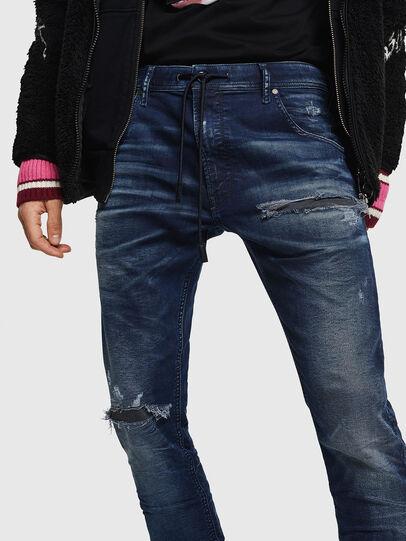 Diesel - Krooley JoggJeans 069JE, Dark Blue - Jeans - Image 4