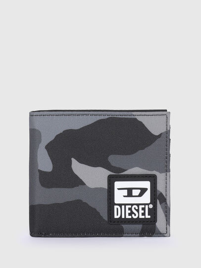 Diesel - HIRESH S, Grey/Black - Small Wallets - Image 1