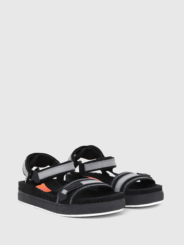 Diesel - SA-GRAND LC, Black/Grey - Sandals - Image 2