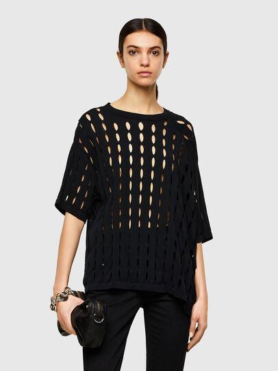 Diesel - M-SILICON, Black - Knitwear - Image 1