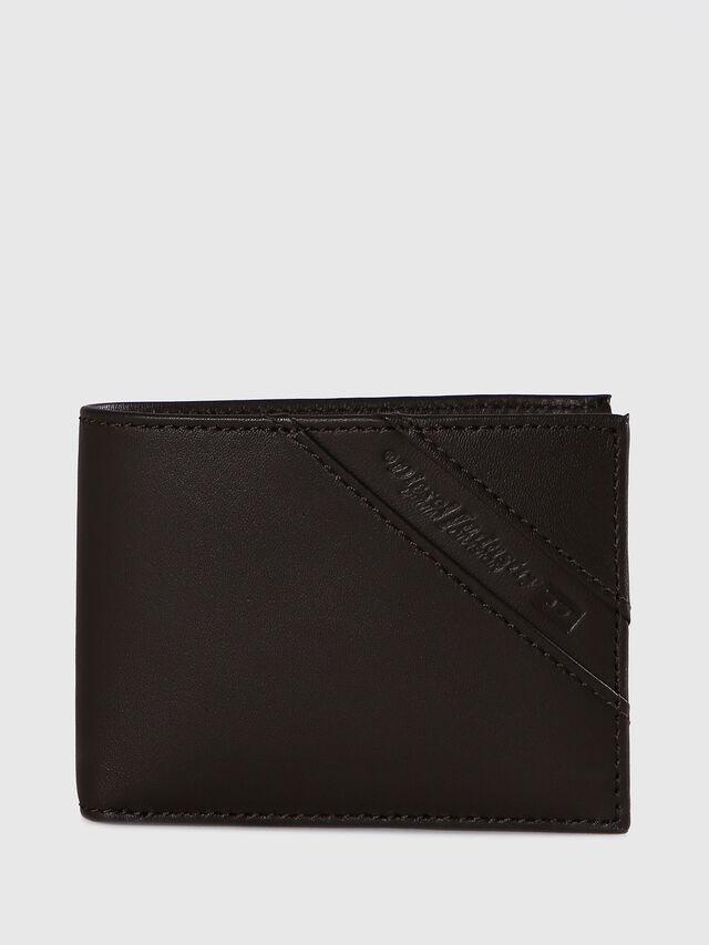 Diesel - HIRESH XS, Dark Brown - Small Wallets - Image 1