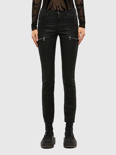 Diesel - D-Ollies JoggJeans® 069RK, Black/Dark grey - Jeans - Image 1