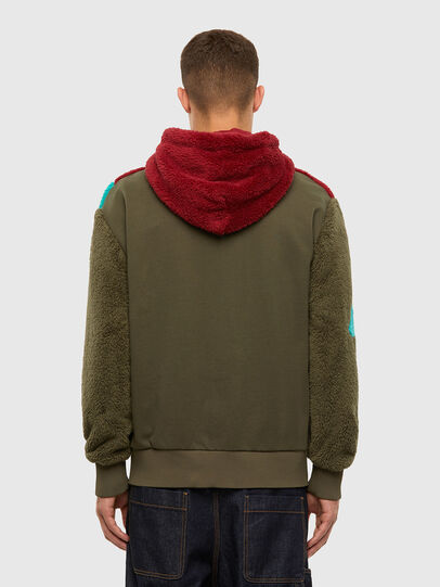 Diesel - S-ALDY, Olive Green - Sweaters - Image 3