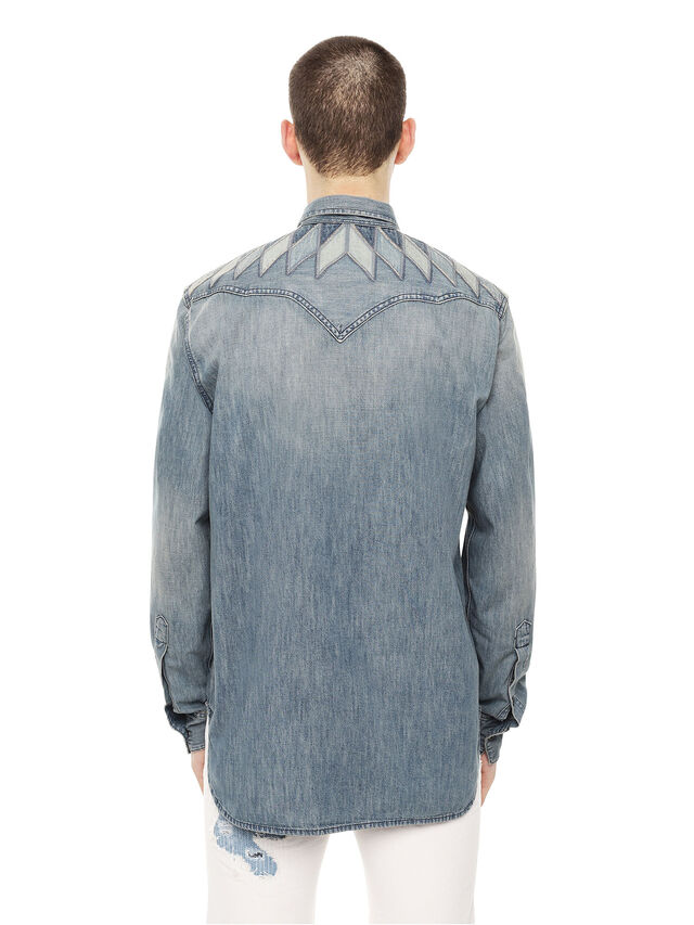 Diesel - SULLYVAN, Blue Jeans - Shirts - Image 2