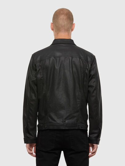Diesel - NHILL-TW, Black - Denim Jackets - Image 2