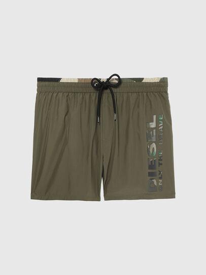 Diesel - BMBX-WAVE-X, Military Green - Swim shorts - Image 4