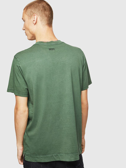 Diesel - T-THURE, Green - T-Shirts - Image 2