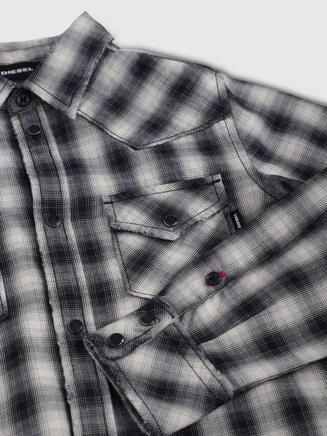 Diesel - CSEAST, Black/White - Shirts - Image 3