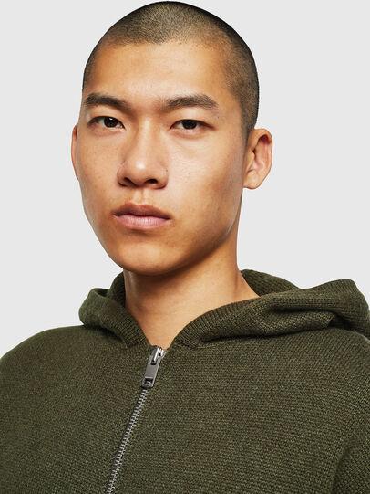 Diesel - K-NAVY, Military Green - Knitwear - Image 5