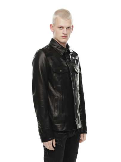Diesel - LASTREET,  - Leather jackets - Image 3