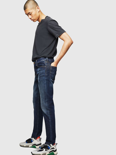 Diesel - Larkee-Beex 087AT, Dark Blue - Jeans - Image 6