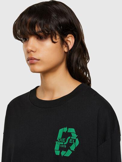 Diesel - T-MIST-E71, Black - T-Shirts - Image 3