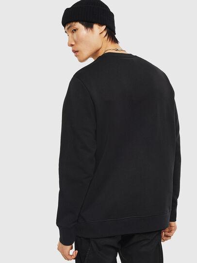 Diesel - SNEILB-A, Black - Sweaters - Image 2