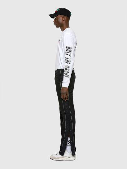 Diesel - KROOLEY JoggJeans® 0KAYO, Black/Dark grey - Jeans - Image 6