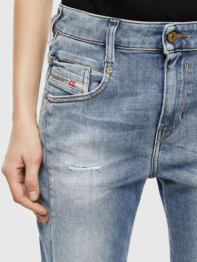 Diesel - Fayza 0099M, Medium blue - Jeans - Image 3