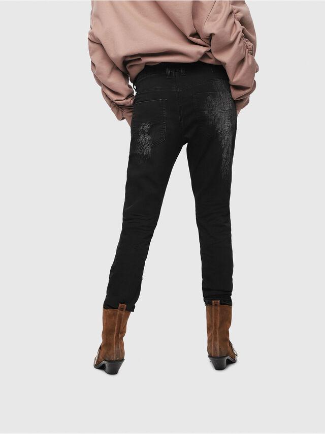 Diesel - Krailey JoggJeans 069DT, Black/Dark grey - Jeans - Image 2